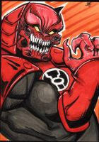 Atrocitus sketch card by The-Standard