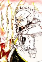 Makarov --- Fairy Tail by AbnusiLaw07