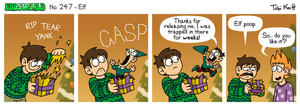 EWCOMIC No. 247 - Elf by eddsworld
