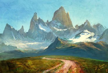 FitzRoy Mountain by RHADS