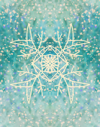 Another snow crystal by theeliell
