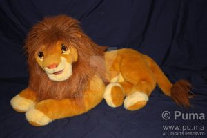 The Lion King - Adult Simba puppet by Douglas Co. by dapumakat