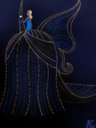 Disney's Electrical Parade - The Blue Fairy by gissele365