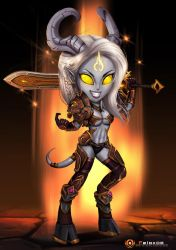 Chibi Lightforge Draenei by Felox08