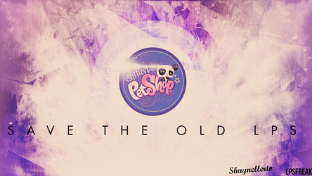 Littlest Pet Shop Save the old LPS (wallpaper2) by illumnious