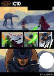 Starwars comic page 2 by alvenon