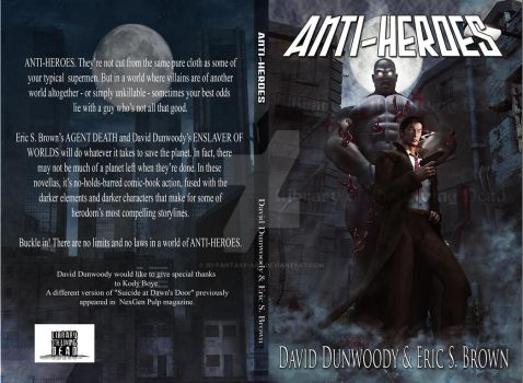Anti-Heroes Book Cover by 3D-Fantasy-Art