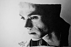Dylan O'brien - Stiles Stilinski by HeleneSaether