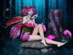 Conversing with Butterflies by RavenMoonDesigns
