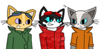 Blinx OCs - Set 1 by catgirl140