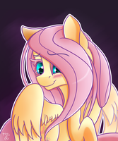 Don't Be Shy, Fluttershy by MidnightSix3