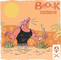 POPTAGE BROCK SAMSON by paintmarvels
