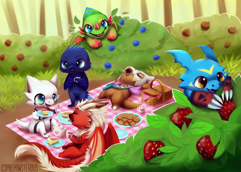 :Picnic Day: by PrePAWSterous
