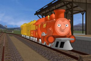Railways of Crotoonia: Big Freighter Pete Promo by TheMilanTooner