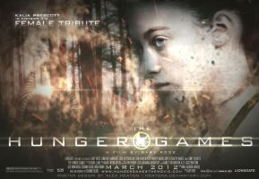 District 3 Female HG Poster by heatona