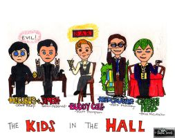 the kids in the hall by MrSmearkase