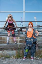 Ellie and Tiny Tina - Borderlands 2 by Nullien
