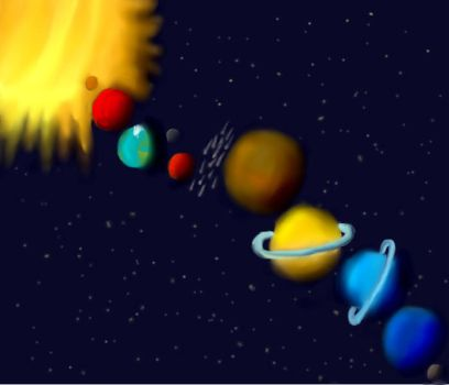 The solar system - take two by Holsmetree