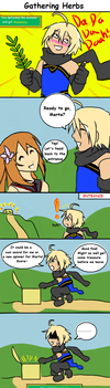 Tos2comic: Gathering Herbs by RedWyvern