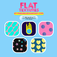 Flat Textures by mabling