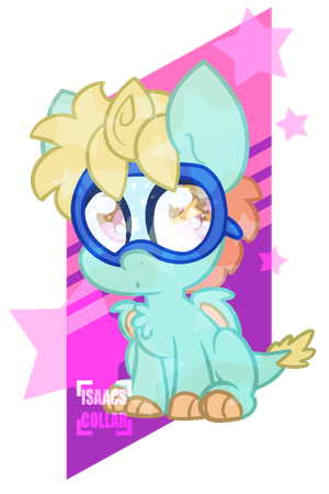 Flashy Chibi by Isaacs-Collar