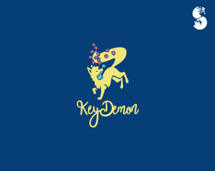 KeyDemon-Logo by whitefoxdesigns