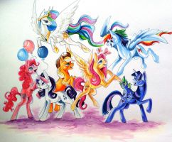 Friendship is Magic Contest by Lucky978