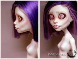 Miss Hypnotica OOAK Repaint 2 by kamarza