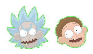 rick and morty by Dark-Tiramisu