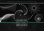 Geometric Abstract | Brushes by sweetpoisonresources