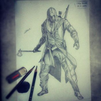Assassin's Creed III - Connor by gokhanaltay