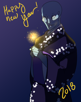 Happy New Years! by KingThreshie