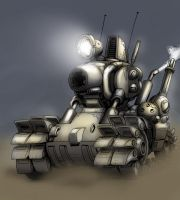 Metal Slug Tank by MCsaad