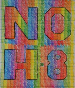 NO H8 by DevinSummers