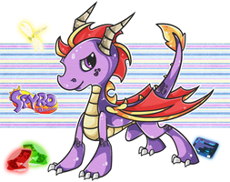 :Spyro.The.Dragon: by Arkeresia