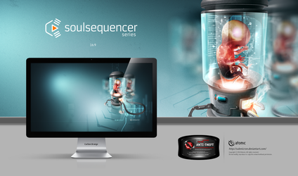 Soulsequencer Series Carbon Orange by submicron