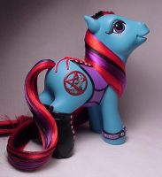 Tamaska corset pony for Teasle by Woosie