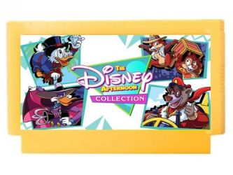 Disney Afternoon Collection (Famicom) cartridge by polskienagrania1990