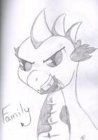 Spike Family by bookxworm89