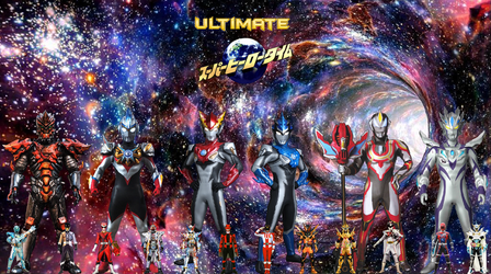 Ultimate Super Hero Time 2016-2018 by TriadSentuary