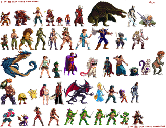 Sprites Compilation 2 by Nighteba