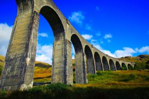 Glenfinnan Viaduct by NurturingNaturesGift