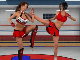 Tomiko v Anne by PhoenixCreed