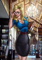Alice the Librarian by richmbailey