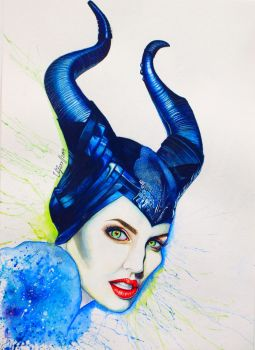 Maleficent by vifoxx