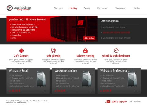 yourhosting - sold by pSHR