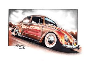 The Beetle by ink-line