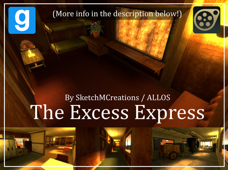 Map - The Excess Express by SecminourTheThird