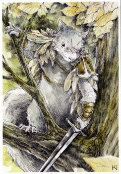 Mouse Guard Squirrel
