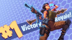 Fortnite - 2018 VICTORY ROYALE! -Youtube!! by KNKL